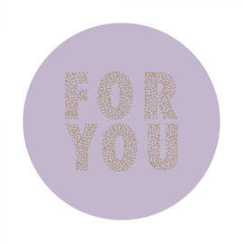 Stickers | FOR YOU | LILA