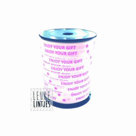 krullint | ENJOY YOUR GIFT | WIT - ROZE