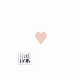 Stickers | Hartje roze