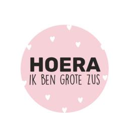 Stickers | HOERA IK BEN GROTE ZUS