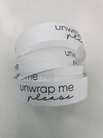 Krullint   UNWRAP ME PLEASE   WIT-ZWART