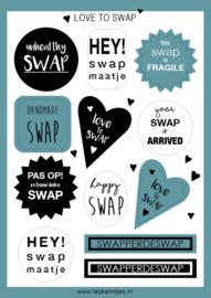 Stickervel |  SWAP | SAGE