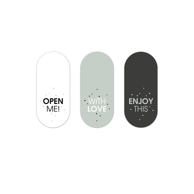 Stickers | RETRO| BLACK-SAGE