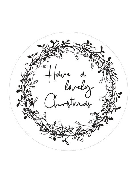 Sticker   HAVE A LOVELY CHRISTMAS