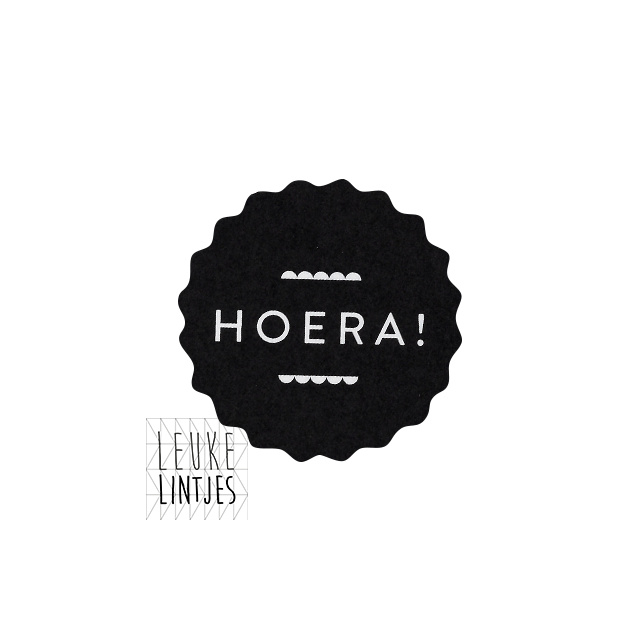 STICKER | HOERA Black