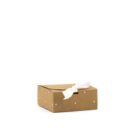 Giftbox Small |  KRAFT Triangle