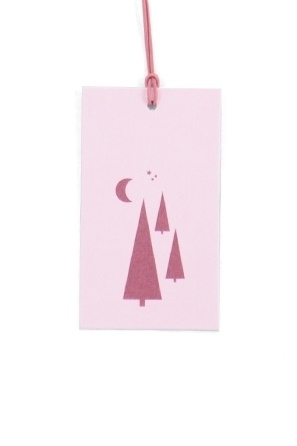 Gifttag | Tree Soft Pink