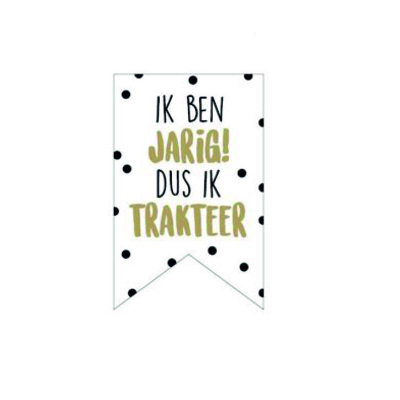 Stickers   IK BEN JARIG