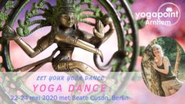 Yoga Dance - Let your yoga dance, Vrijdag - zondag  22 mei - 24 mei 2020 Yogapoint Arnhem