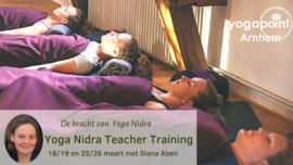 POSTPONED!!! Yoga Nidra Teacher Training - Yogapoint Arnhem - NEW DATES COMING SOON!!!