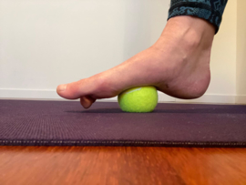 Self Myofascial Release Yin Yoga (Live Zoom) - Woerden - zaterdag 20 februari  2021 -  15.00-17.00 - Muriel Baron en Mirjam Jansens
