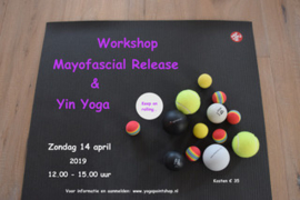 Workshop Myofascial Release en Yin Yoga 14 april 2019