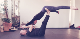 Dream big, fly high in Woerden, acroyoga workshop - Yoga Point Woerden - zaterdag 30 mei - 13.00-16.00 - Sam en Roald