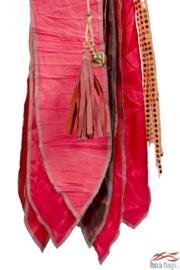 Ibiza vlag  Rood met bamboepaal