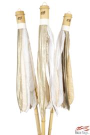 3 Ibiza vlaggen huren met bak Wit