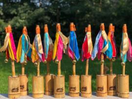 10 tafel vlaggetjes kleur Multicolor huren