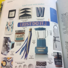 Ibiza Flag in tijdschrift Wendy