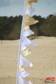 Festival vlag wit