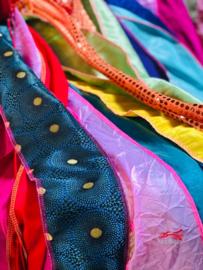 10 Ibiza vlaggen Multicolor met haken huren