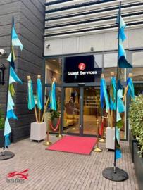 Huurvlaggen bij Designer Outlet Roosendaal