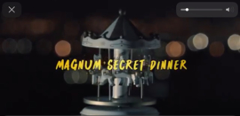 Magnum Secret Dinner by SBS Belgium 2019