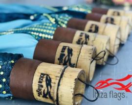10 Ibiza vlaggen  Aqua huren