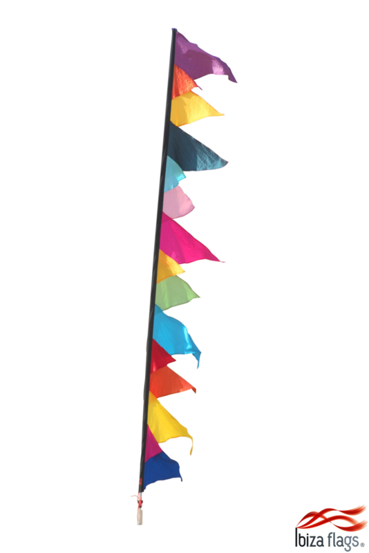 Festival vlag multicolor