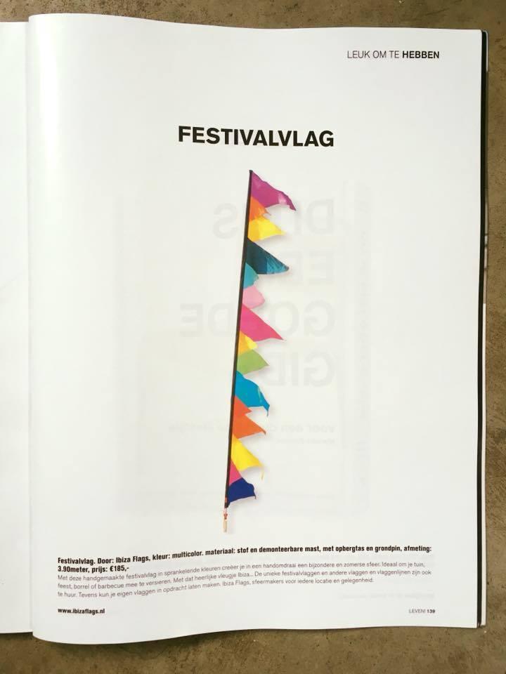 Leven Magazine festivalvlag