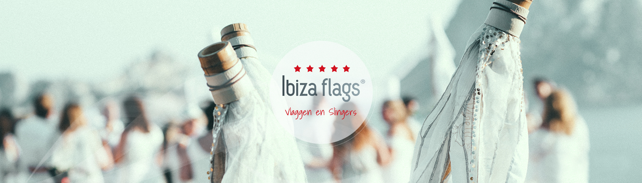 witte Ibiza Flags