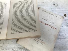 2 Antieke boekjes 1874 + 1875 ...