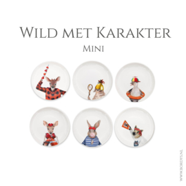 B-keus Wild met karater Mini, complete set