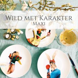 Wild met Karakter Maxi