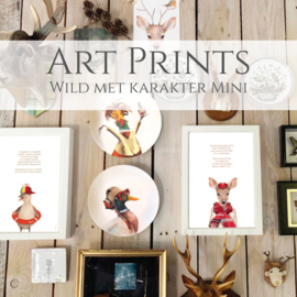 Artprints Wild met karakter Mini