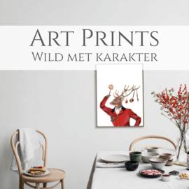 Artprints Wild met karakter Maxi
