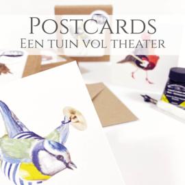 Een Tuin vol theater wenskaarten