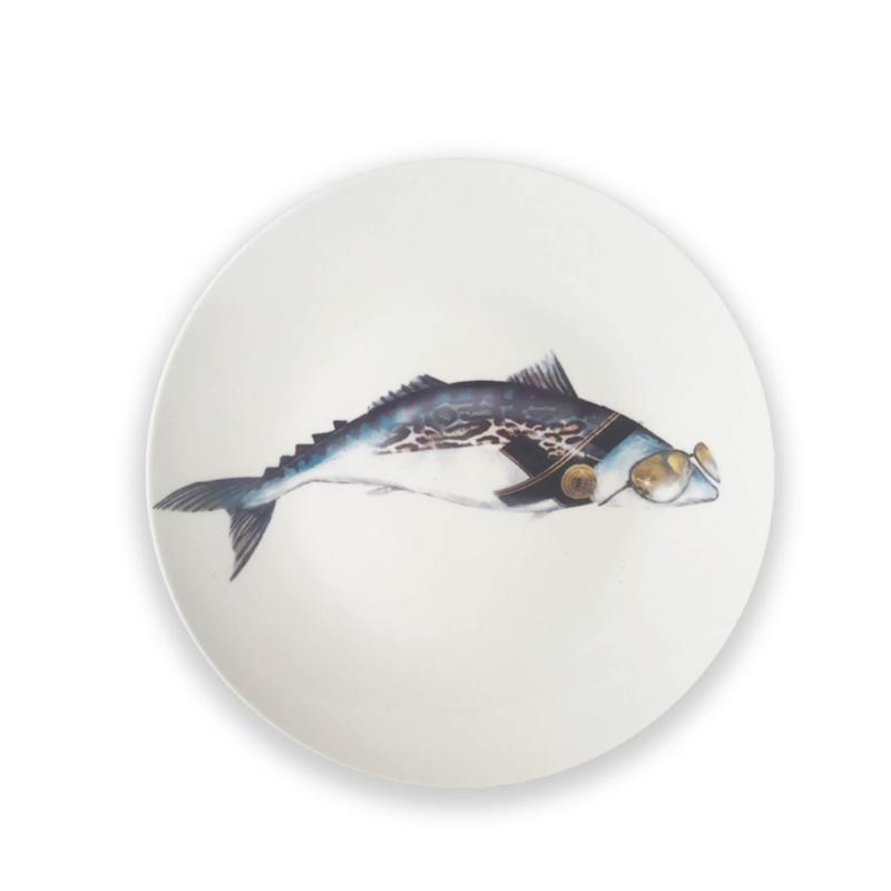 Een Noordzee vol karakter - Bord Makreel