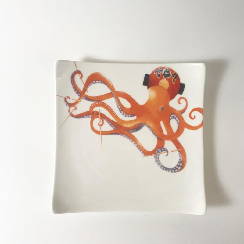 B-keus The Art of Sushi - Bord Inktvis