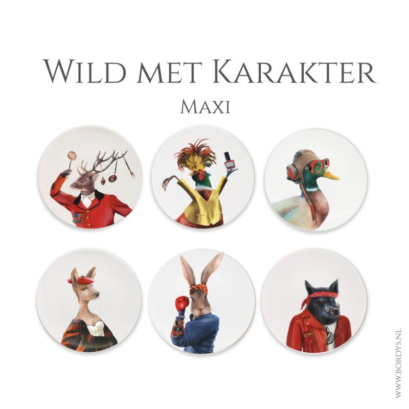 B-keus Wild met karakter Maxi complete set