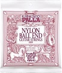 Ernie Ball 2409 Ernesto Palla Nylon Classical Black Gold Ball End