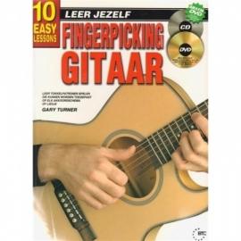 Leer Jezelf fingerpicking gitaar incl cd en dvd
