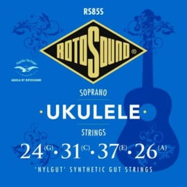 RS85S |Rotosound Traditional Instruments snarenset sopraan ukelele 'Nylgut' synthetic gut