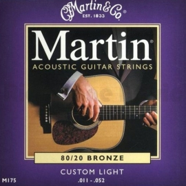 Martin M 175 Bronze Guitar Strings