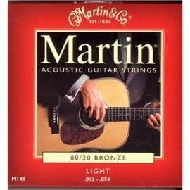 Martin M 140 Bronze Guitar Strings