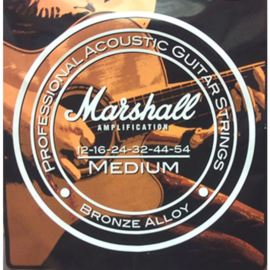 MARSHALL ACOUSTIC GUITAR STRINGS 12-54 GAUGE