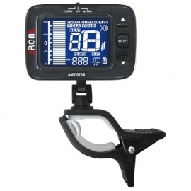Aroma AMT-570B Digital RECHARGEABLE Clip-On Metronome and Cromatic Tuner