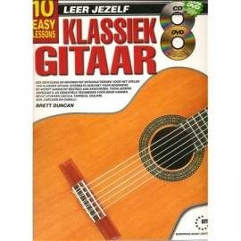 Leer Jezelf klassiek gitaar incl cd en dvd