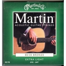 Martin M 170 Bronze Guitar Strings