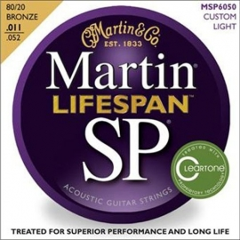 Martin Strings MSP7050 Lifespan Bronze Custom Light