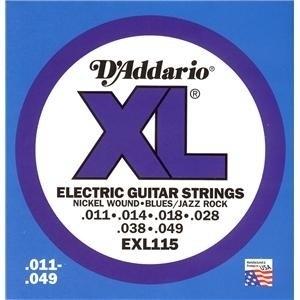 D`addario EXL 115 Electric Guitar Strings