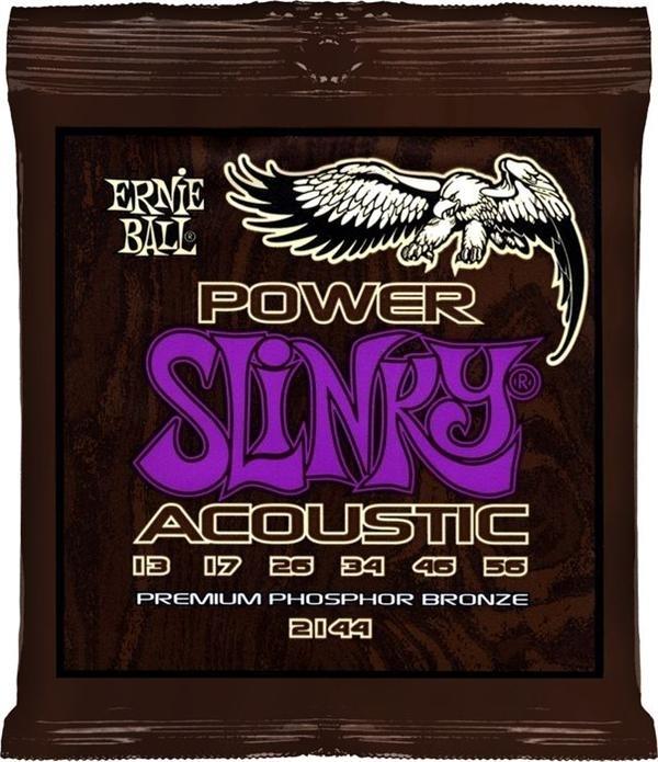Ernie ball 2144 Staalsnarige gitaarsnaren Premium Phosphor Bronze